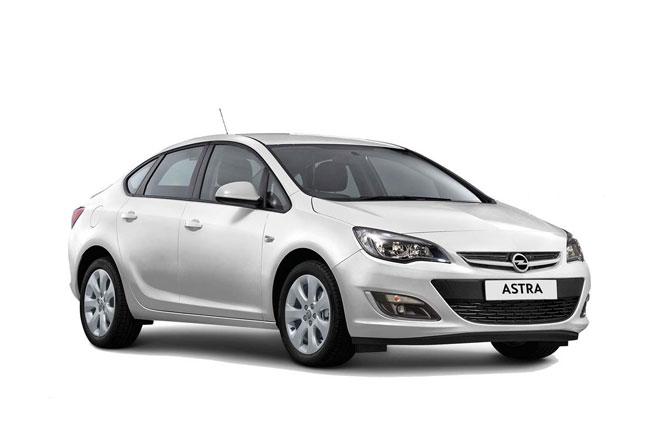 Opel Astra Sedan - Rent a Car