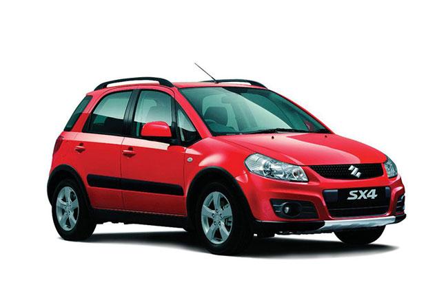 Suzuki SX4 - Rent a Car